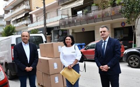 Donation to 3rd health district of Macedonia