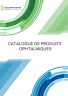 Catalogue de produits ophtalmigues